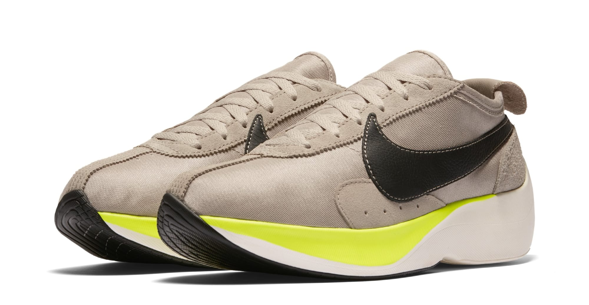Nike Moon Racer 'Black/Sail/Volt' AQ4121-200 (Pair)