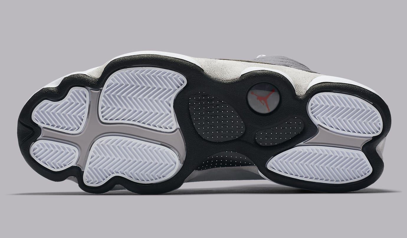 separation shoes cbe7c 0d621 Image via Nike Air Jordan 13 XIII Atmosphere Grey Release Date 414571-016  Sole