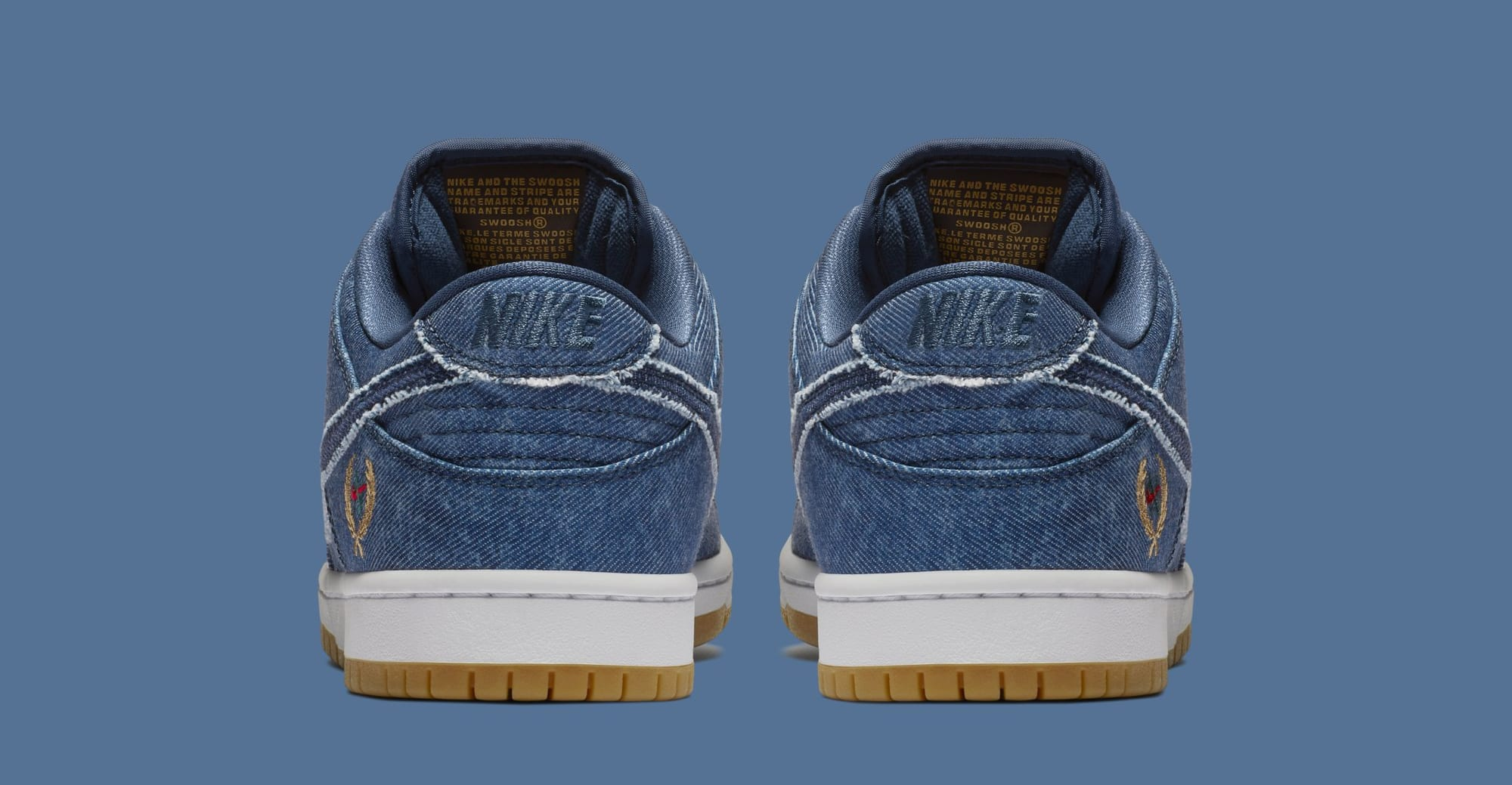 Nike SB Dunk Low 'Biggie' 883232-441 (Heel)