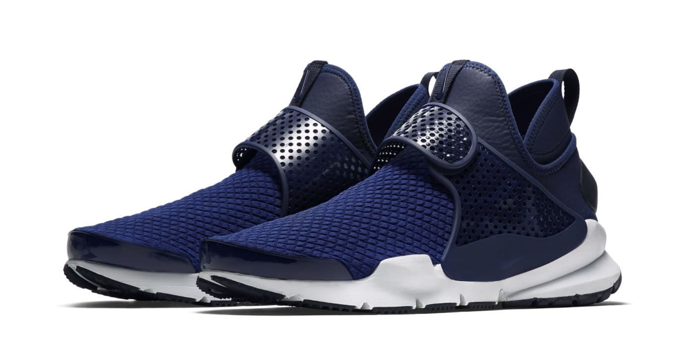 Nike Sock Dart Mid Navy (Pair)