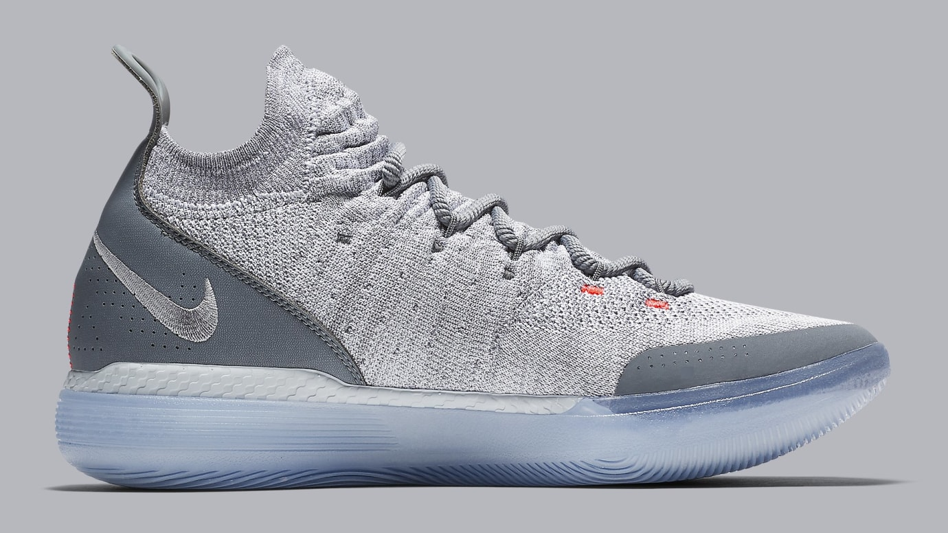 498d5426105 Image via Nike Nike KD 11 Cool Grey Release Date AO2605-002 Medial