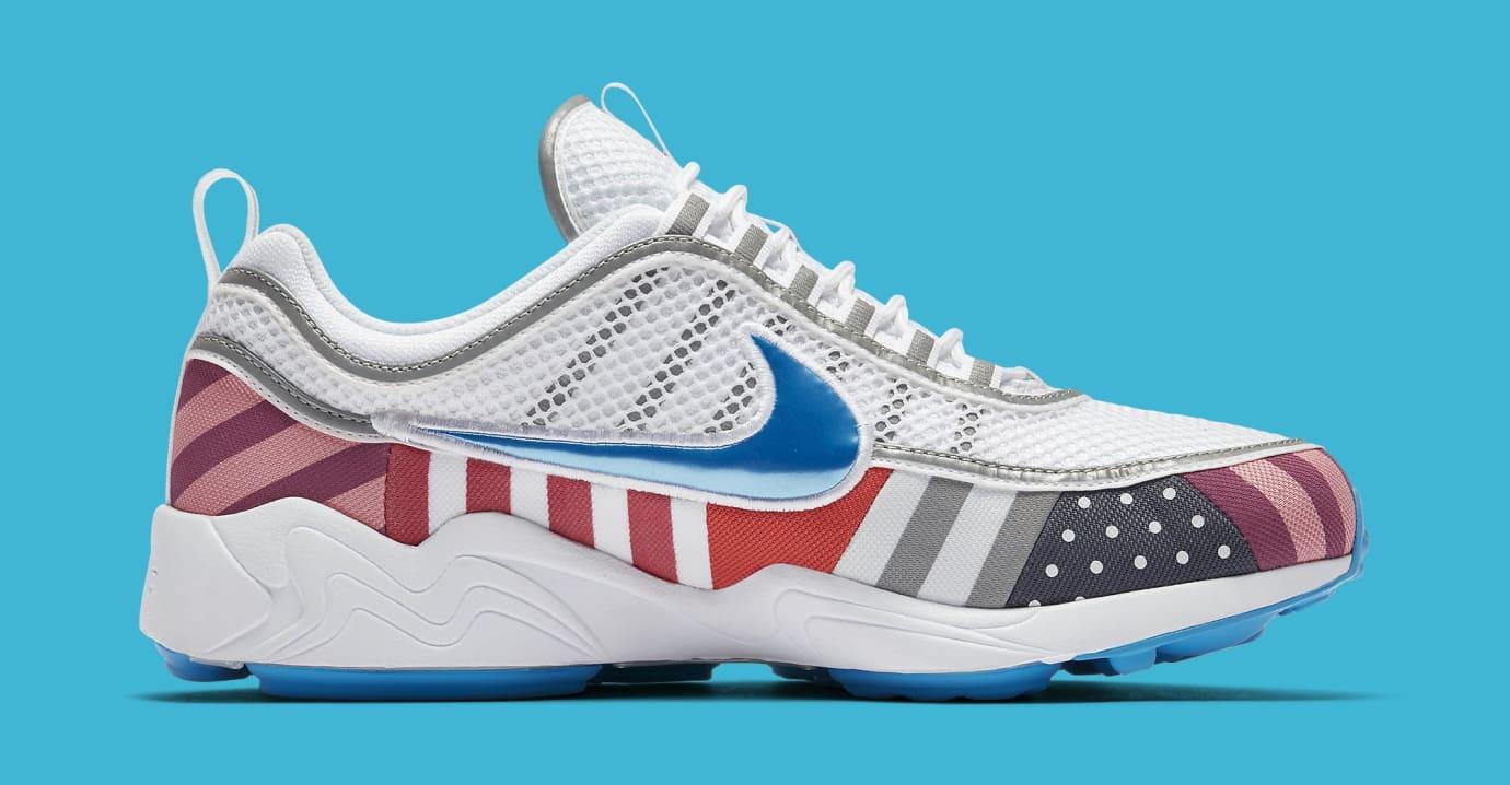 0488fd8833f0 Image via Nike Parra x Nike Air Zoom Spiridon AV4744-100 (Medial)