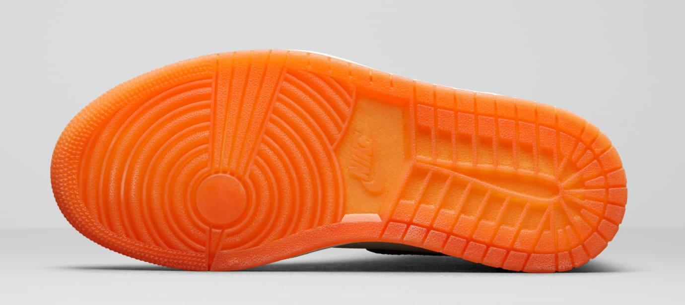 Air Jordan 1 Satin 'Shattered Backboard' AV3725-010 (Sole)