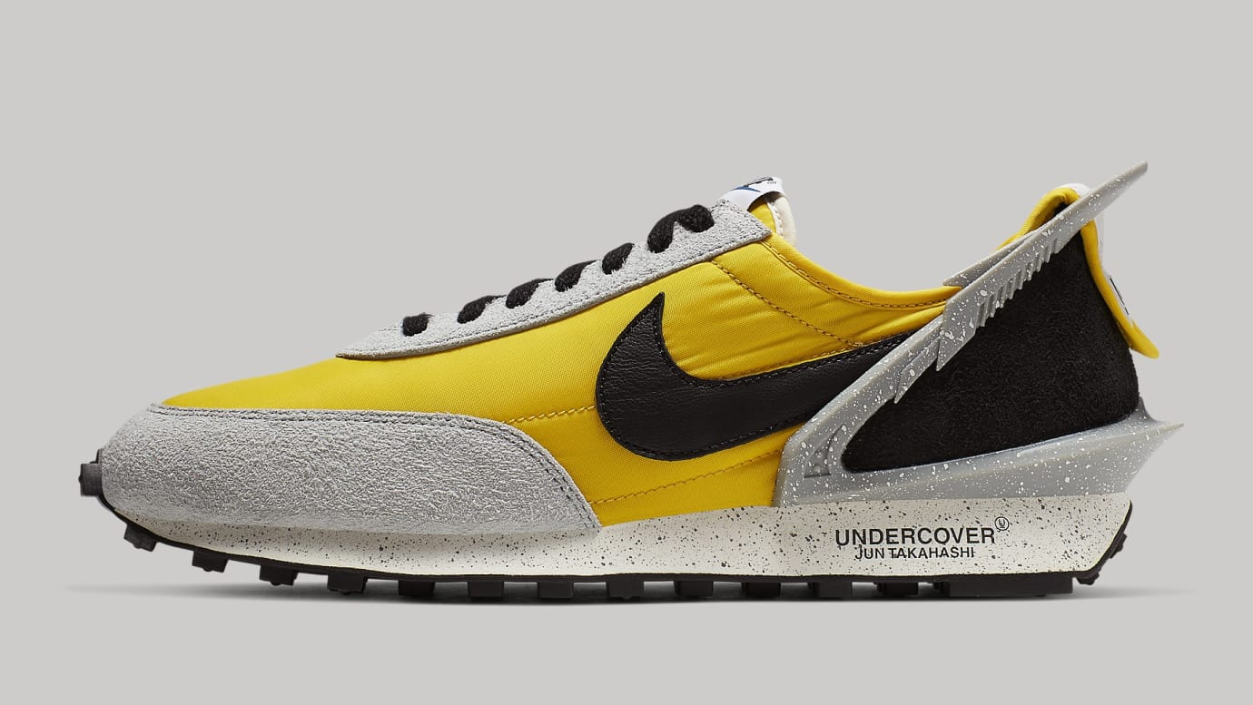 Undercover x Nike Daybreak Bright Citron/Black-Summit White BV4594-700 Lateral