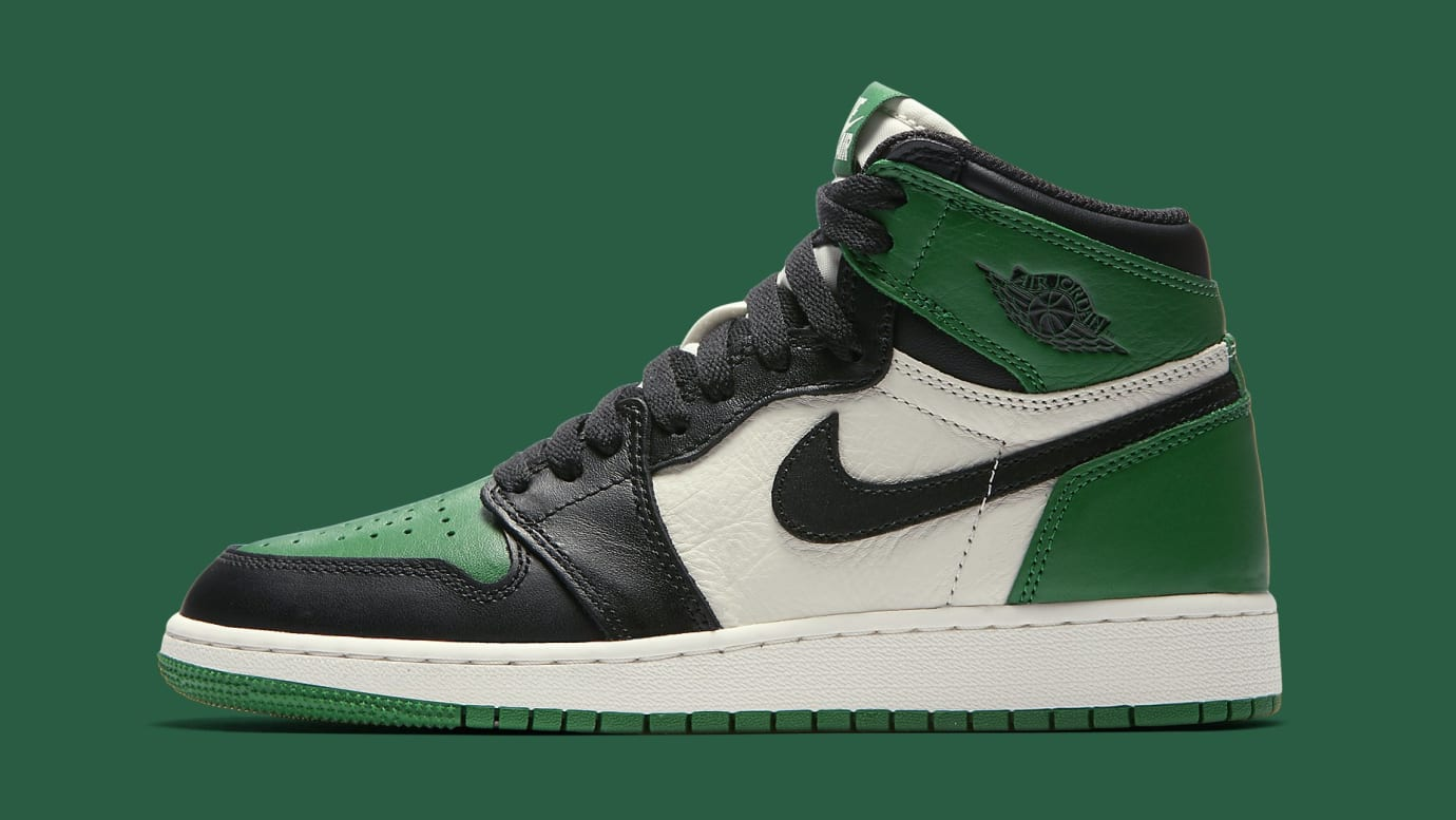 Air Jordan 1 GS  Pine Green   Court Purple  Release Date 575441-302 ... 9eed09c62
