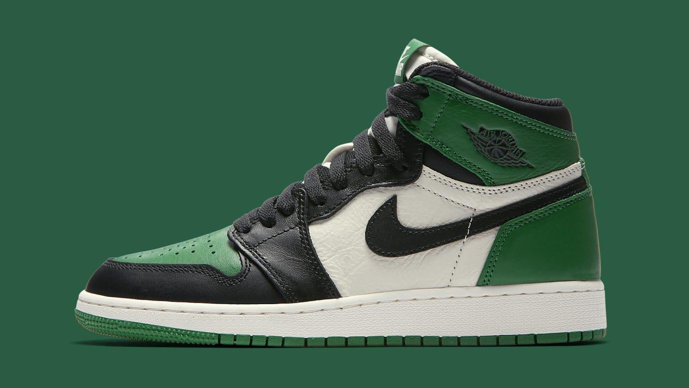 f34a97a569b54d Air Jordan 1 GS  Pine Green   Court Purple  Release Date 575441-302 ...