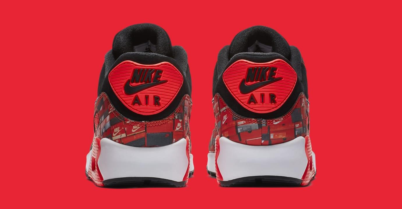 Atmos x Nike Air Max 90 'Infrared/We Love Nike' AQ0926-001 (Heel)
