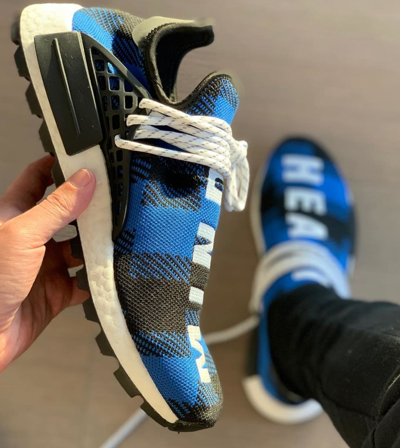 pretty nice c7981 e1366 BBC x Adidas Pharrell NMD 'Heart' 'Mind' 2019 Release Date ...