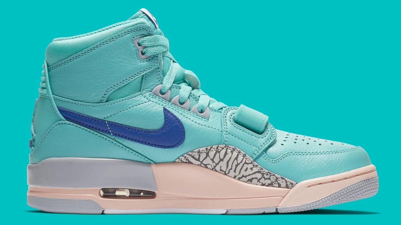 san francisco 4c2dc d1509 Image via Nike Don C x Air Jordan Legacy 312 Hyper Jade Release Date  AV3922-348 Medial