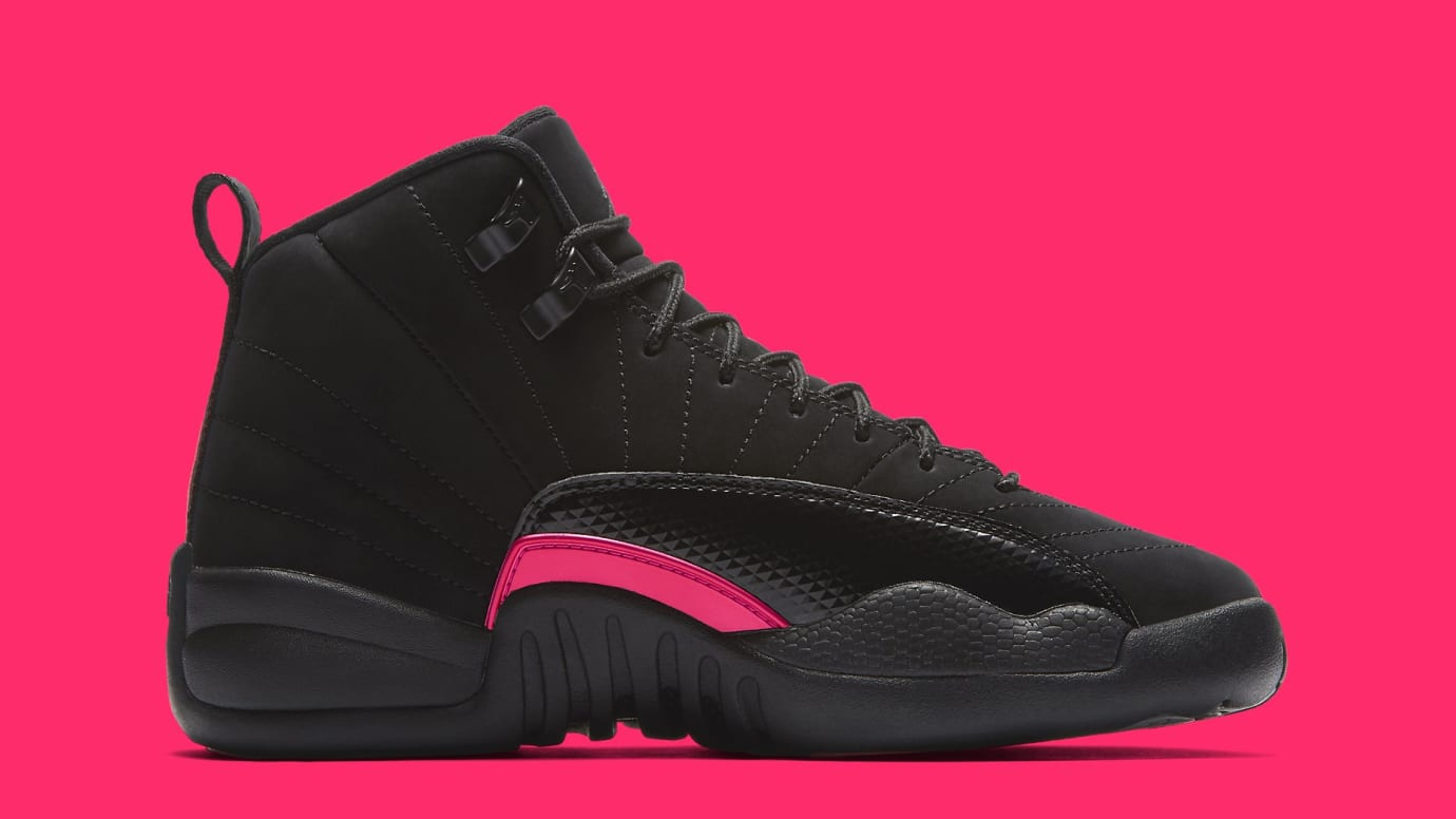 new concept 19397 041ca ... cheapest image via nike air jordan 12 retro gg rush pink 510815 006  medial 9af61 3e5c7