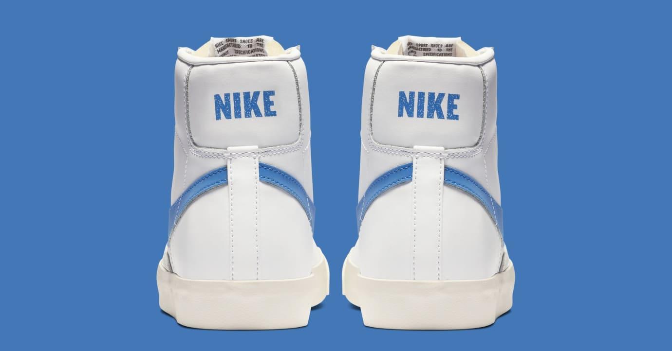 Nike Blazer Mid '77 'Pacific Blue' BQ6806-400 (Heel)