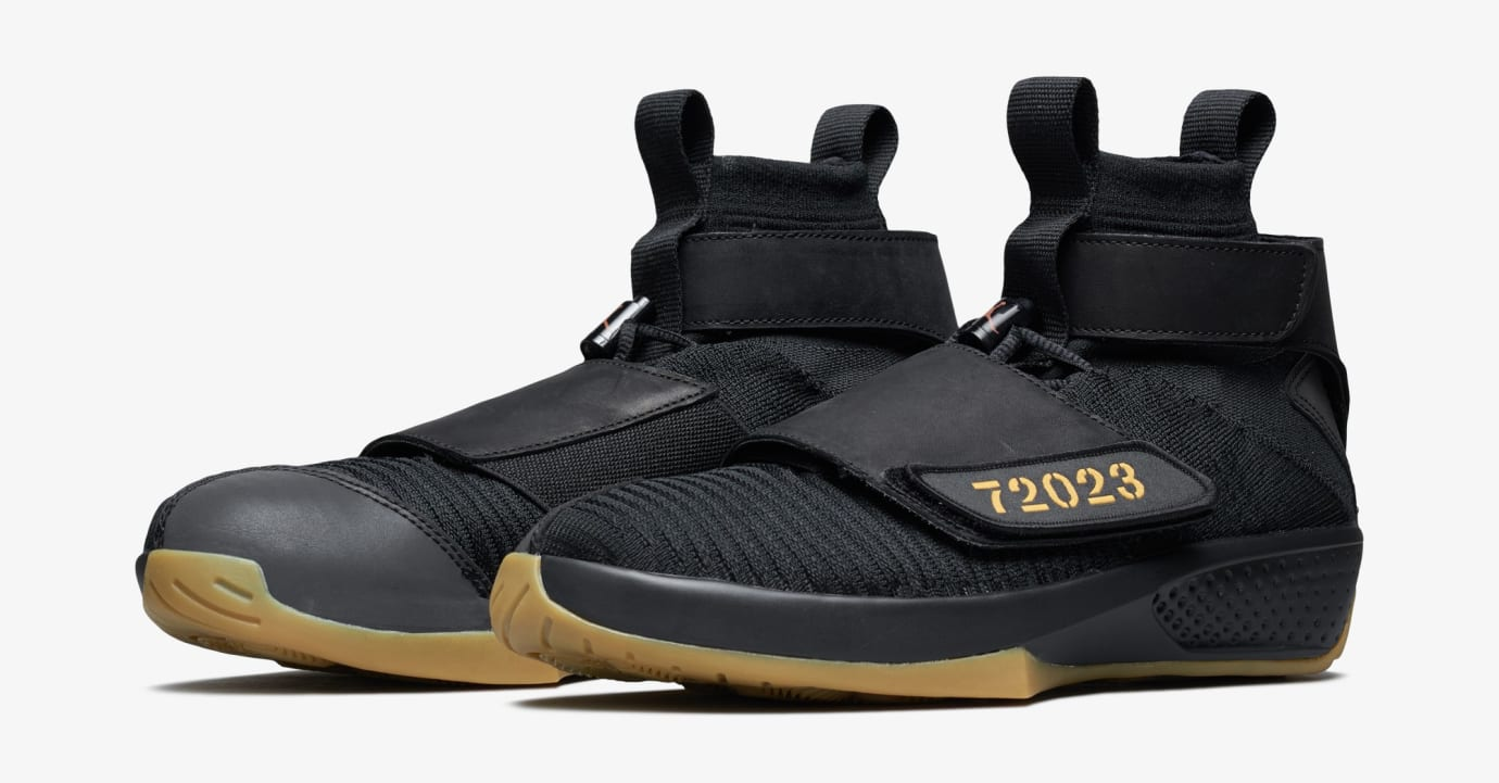 9c4cab1b1f7b Image via US11 · Air Jordan 20 Flyknit  Melo Black Gum  (Pair)