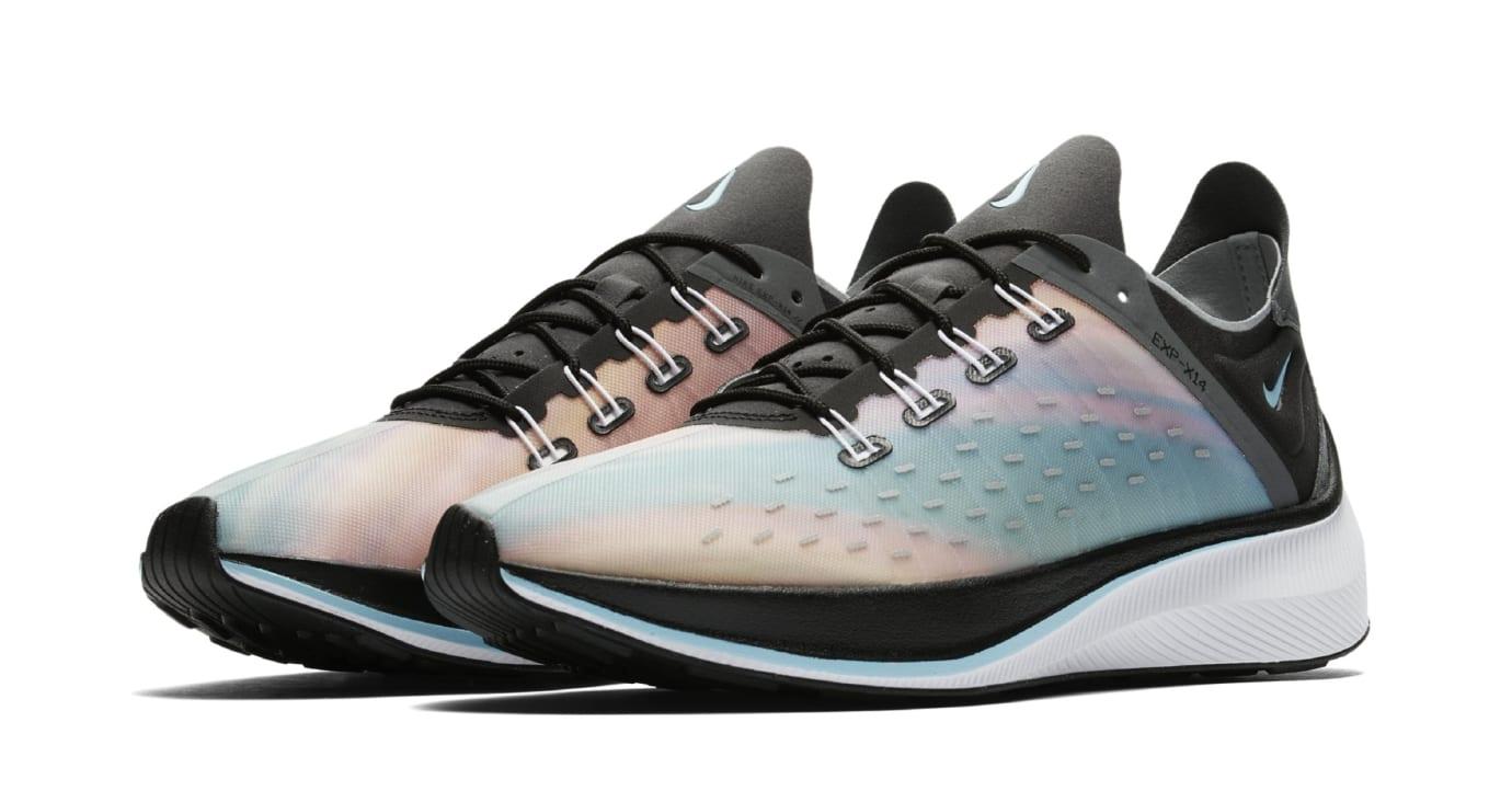 Nike EXP-X14 QS 'Black/Wolf Grey/Dark Grey/Blue Chill' BQ6972-001 (Pair)