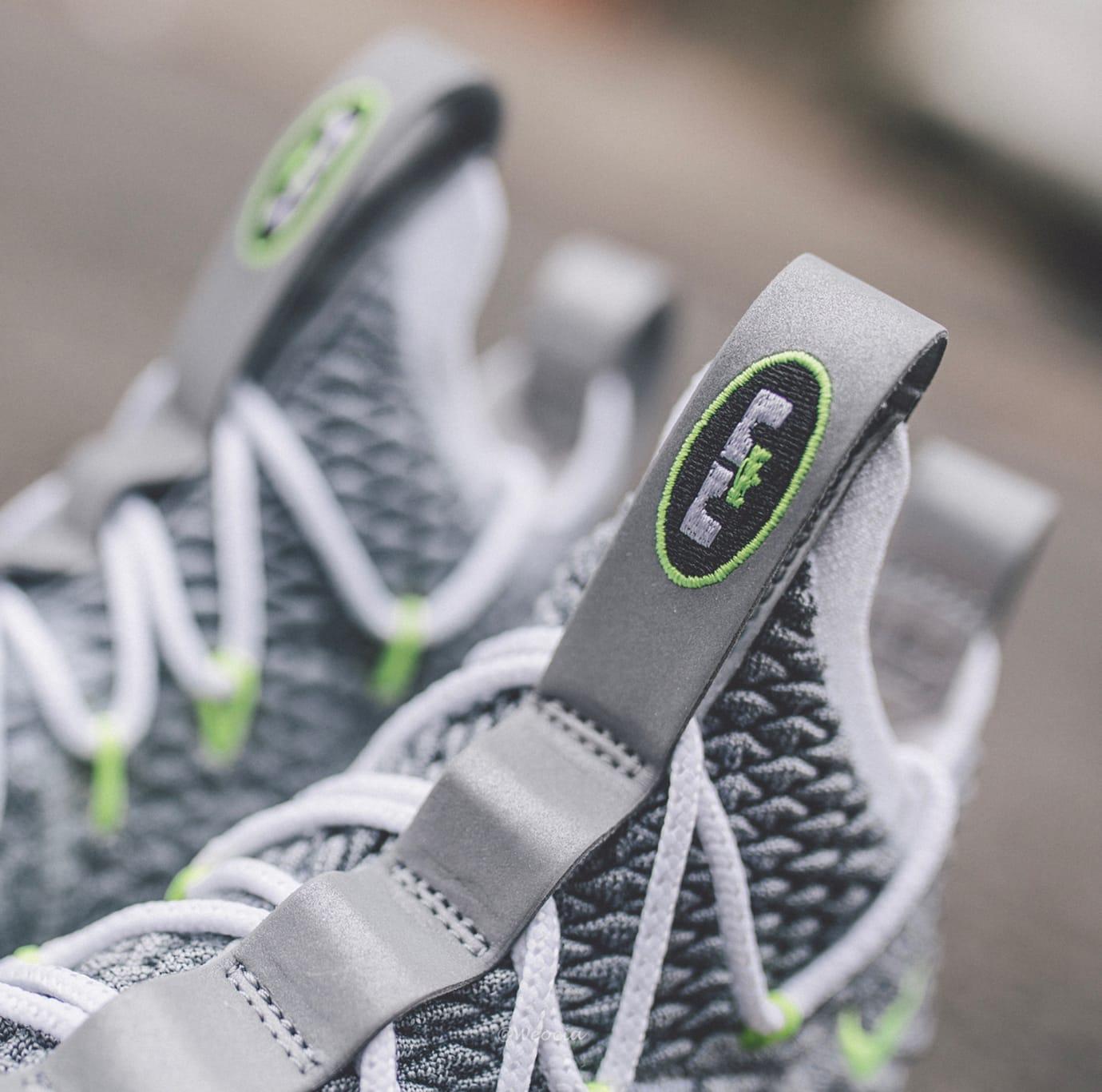 Image via  weocia on Instagram · Nike LeBron 15  Air Max 95  (Tongue) f6249b536