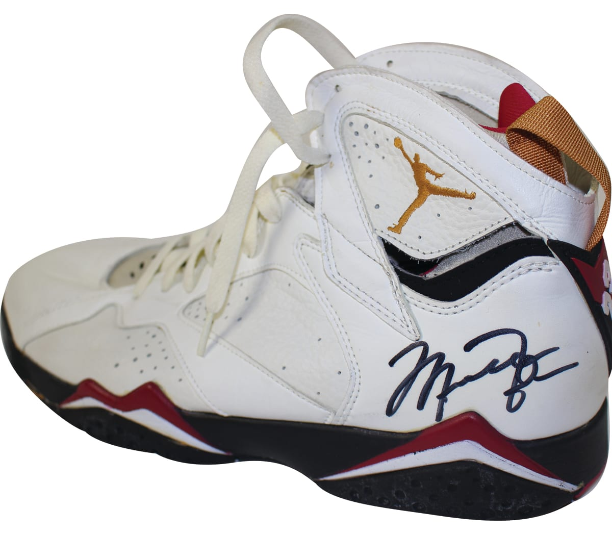 Michael Jordan Game-Worn Air Jordan 7 Cardinal Auction (3)