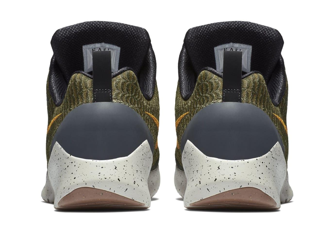 Nike HyperAdapt 1.0 'Olive Flak/Orange Peel' 843871-300 (Heel)