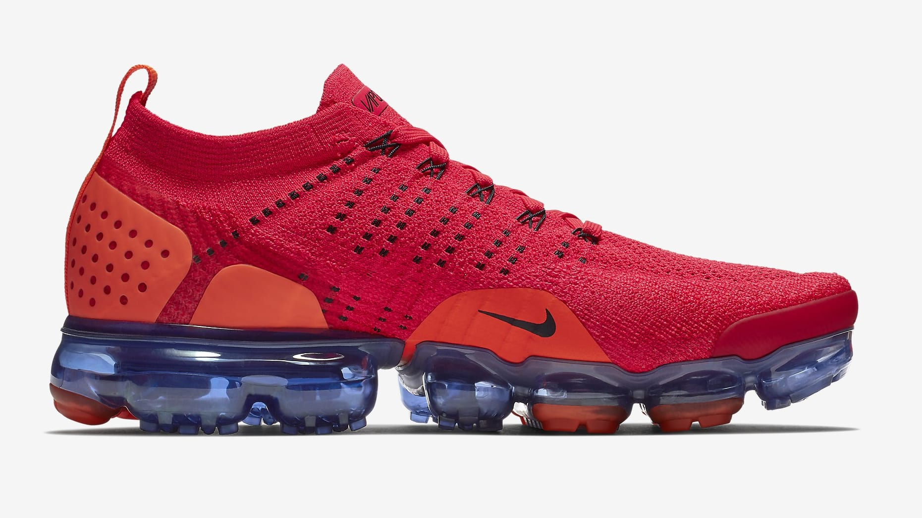 info for 8b14c efa4d ... clearance image via nike nike air vapormax 2 flyknit red orbit ar5406  640f0 434a4
