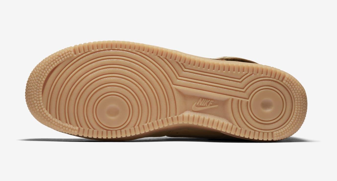 'Wheat' Nike Air Force 1 High 992096-200 (Bottom)