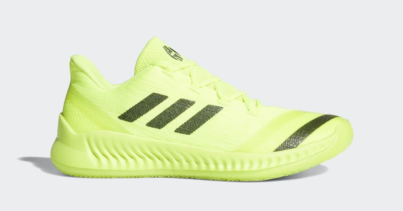 83c4f702df8 Adidas Harden B E 2  Volt  (Lateral)