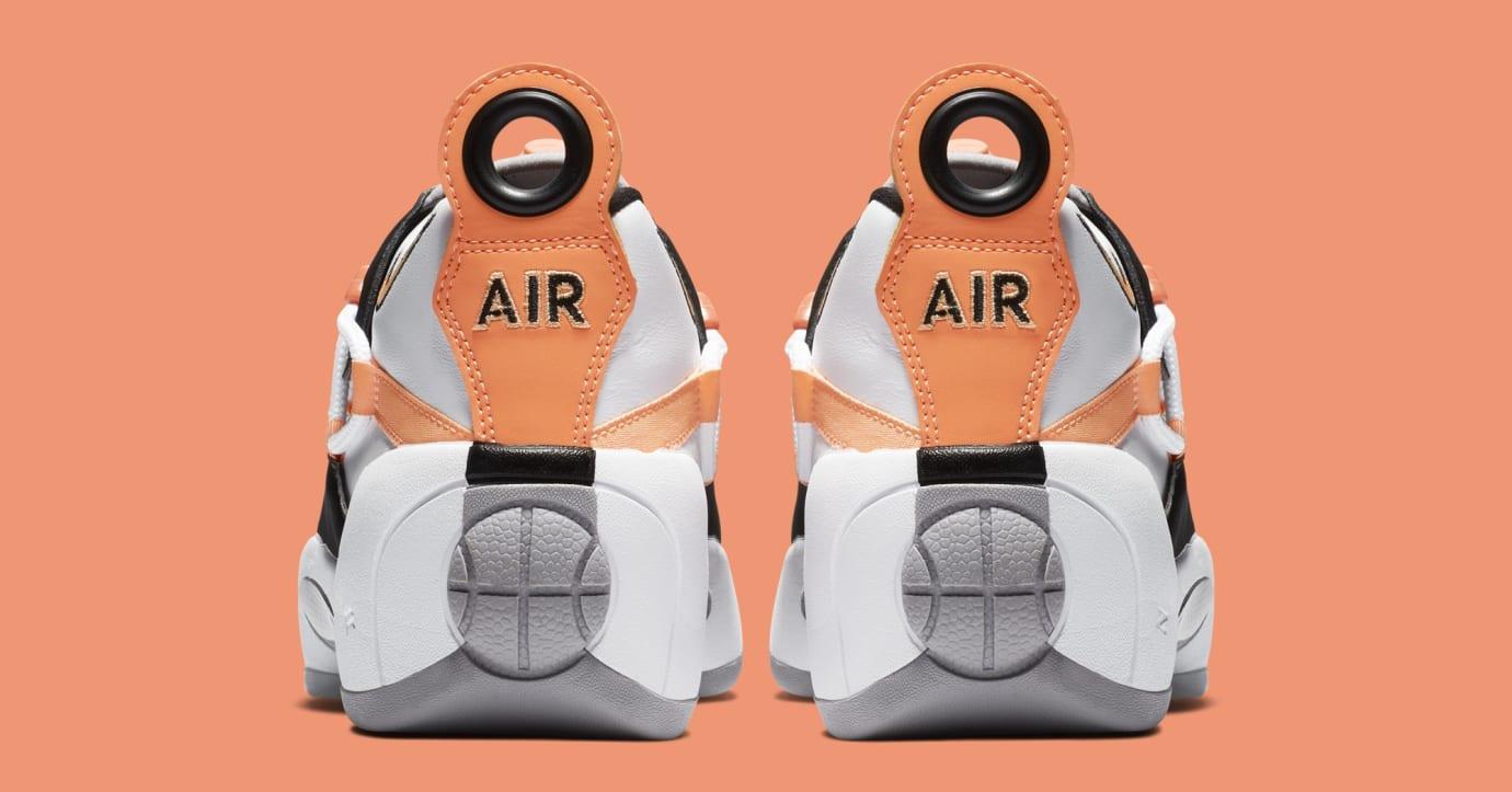 Nike Air Swoopes 2 'Orange Pulse' 917592-102 (Heel)
