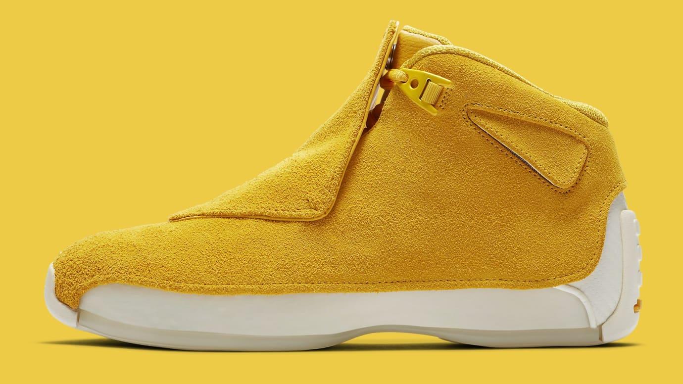 a8798398a39164 Image via Nike air-jordan-18-yellow-ochre-release-date-aa2494-