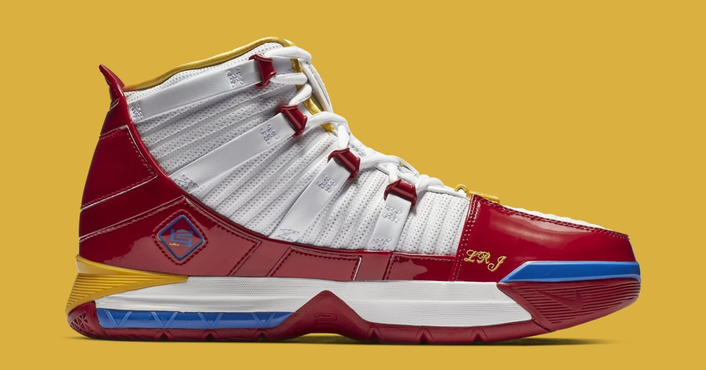 Nike Zoom LeBron 3 'SuperBron' AO2424-100 (Medial)