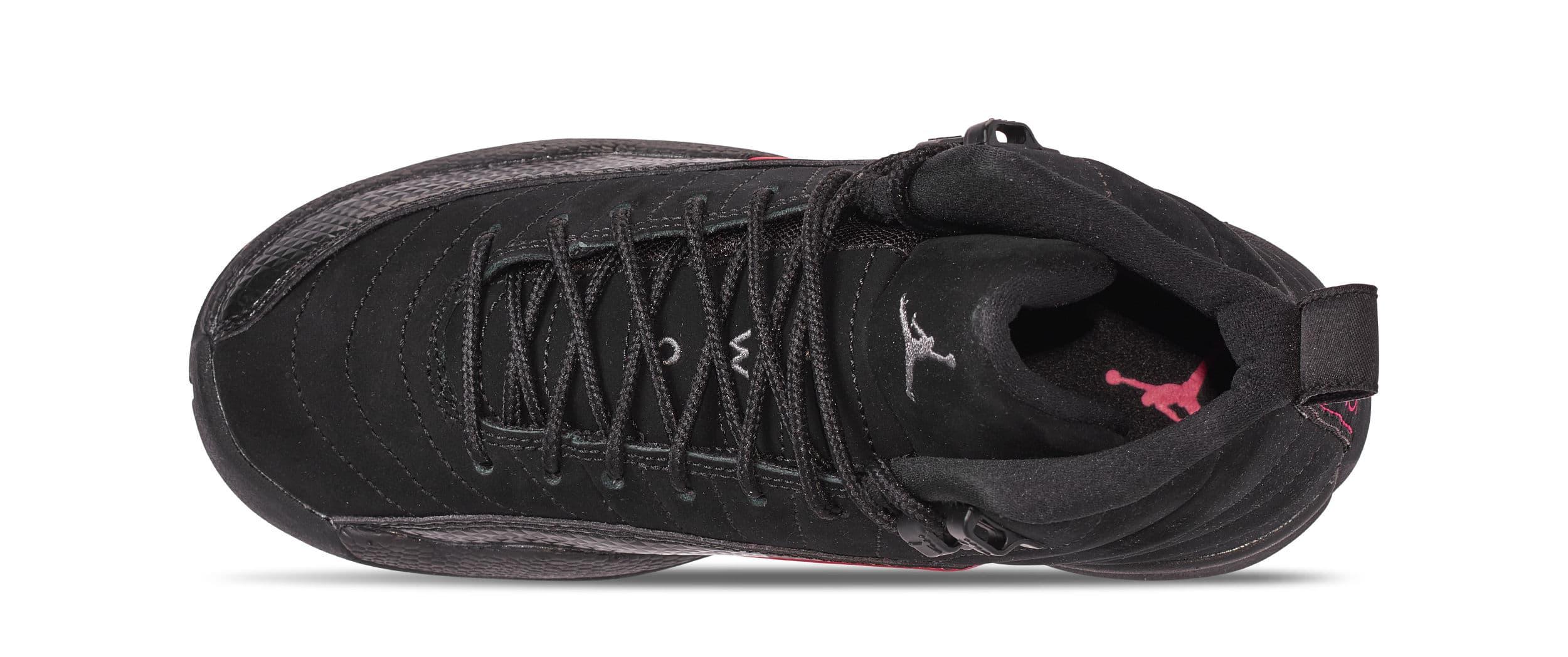 Air Jordan 12 Retro GG 'Black/Dark Grey/Rush Pink' 510815-006 (Top)