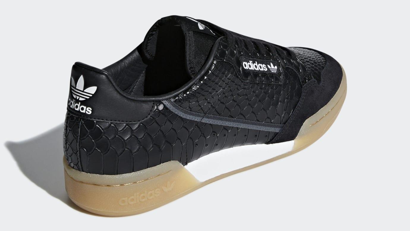 buy popular f08cb fe244 Image via Adidas adidas-continental-80-snakeskin-b41678-heel