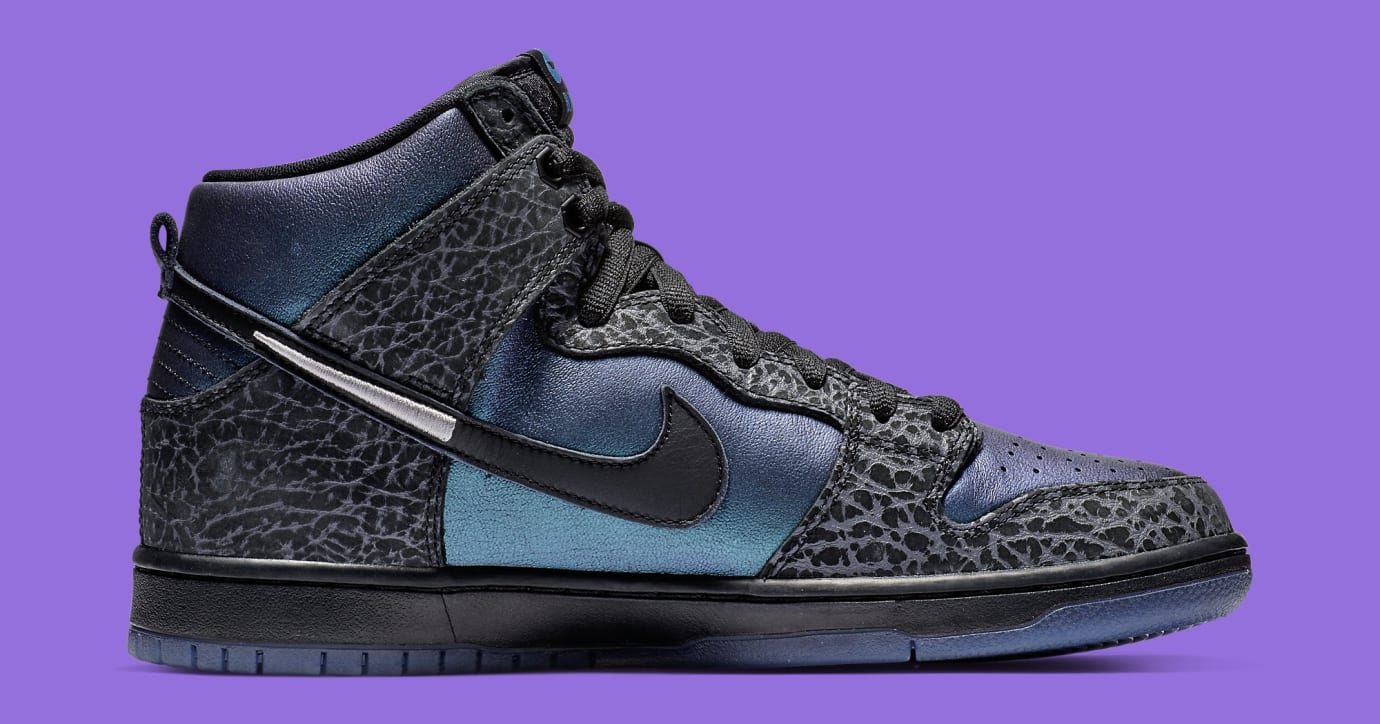 Black Sheep x Nike SB Dunk High 'Black Hornet' BQ6827-001 Medial