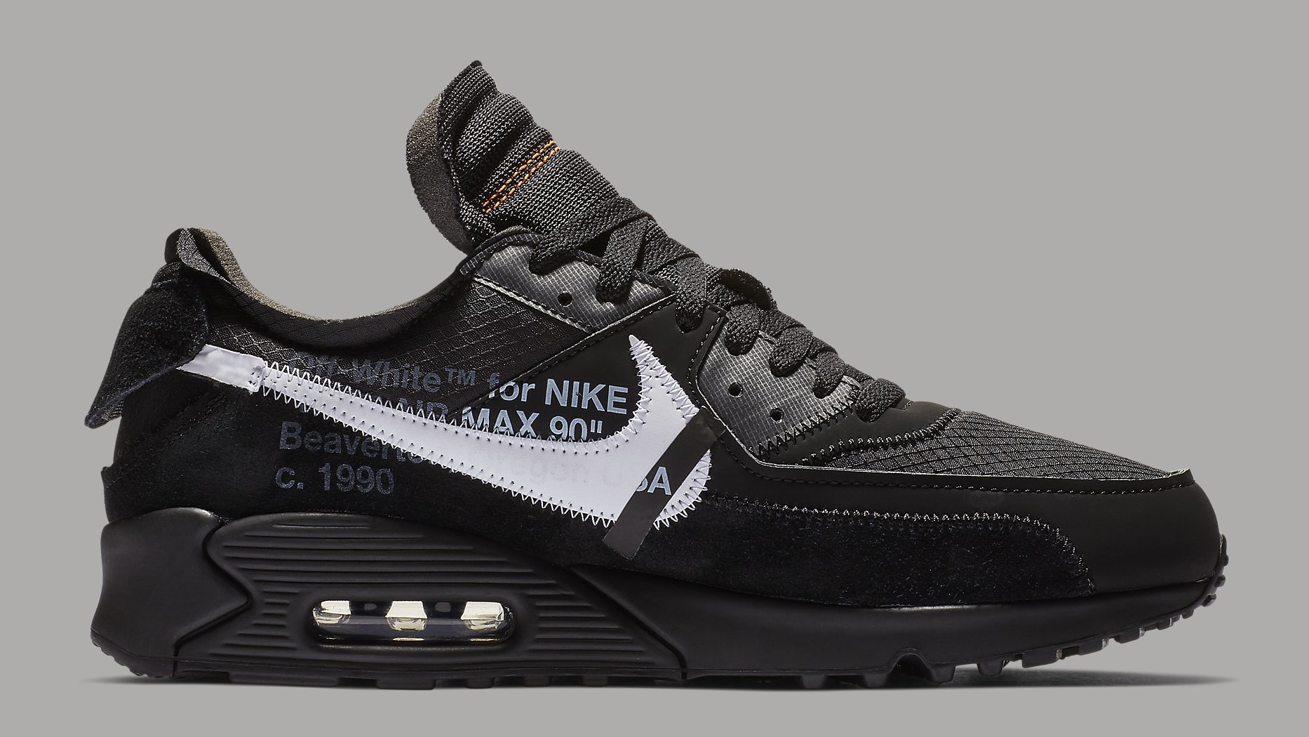 super populaire 2e409 2cf93 Off-White x Nike Air Max 90 Black Release Date AA7293-001 ...