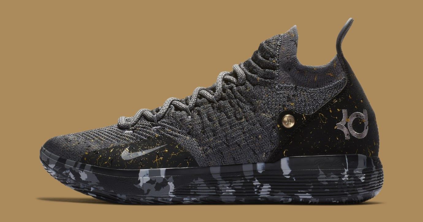 Nike KD 11 'Gold Splatter' AO2604-901 (Lateral)