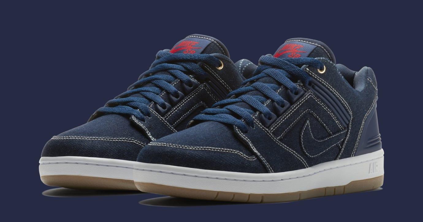 Nike SB Air Force 2 Low '2pac' AO0298-441 (Pair)