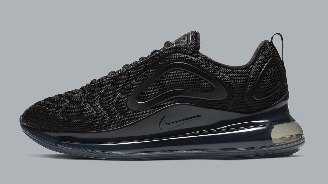 buy popular c88d5 e71e8 Nike Air Max 720  Triple Black  AO2924-007 Lateral