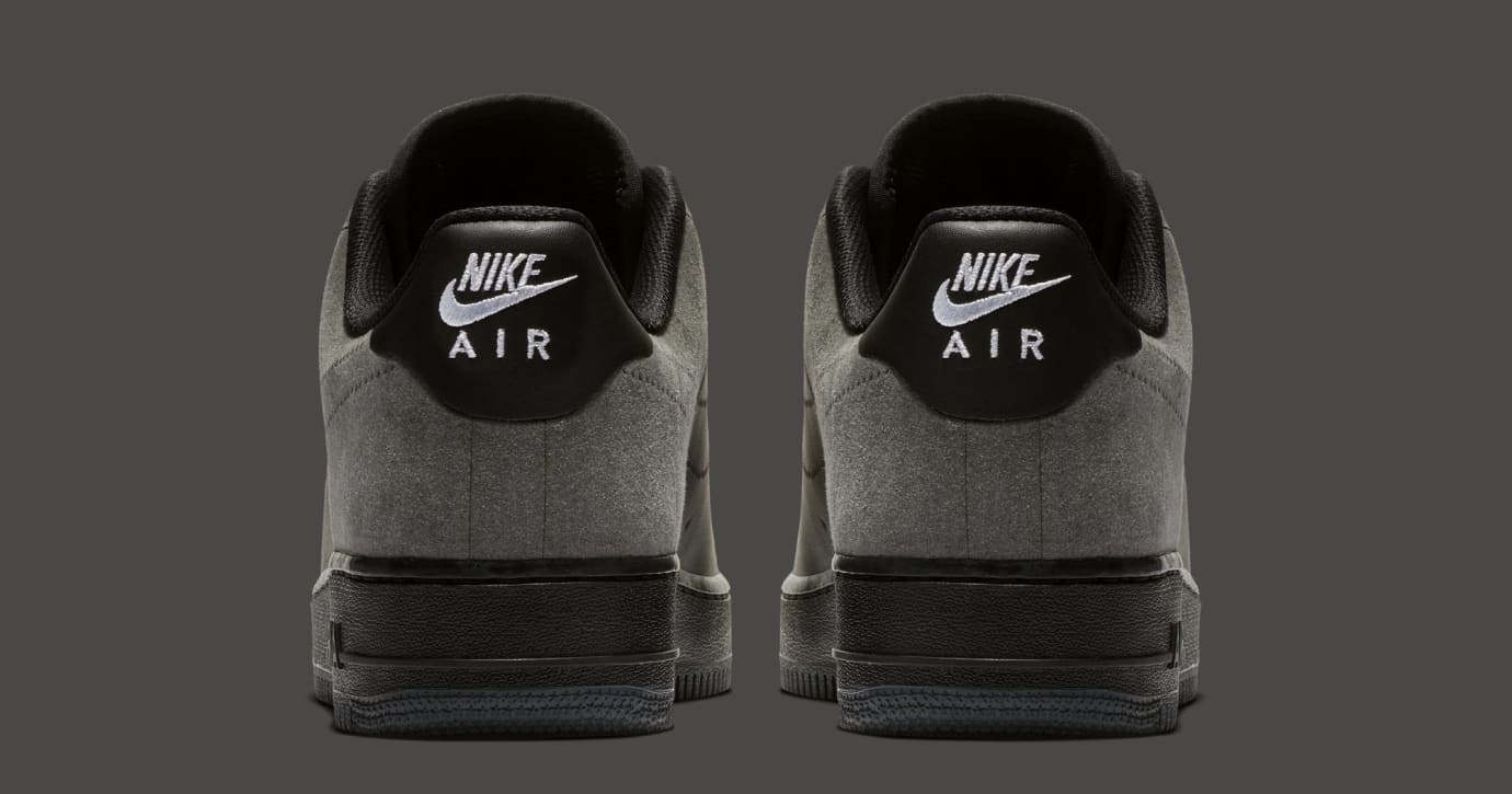 A-Cold-Wall* x Nike Air Force 1 Low 'Black/Dark Grey-White' BQ6924-001 (Heel)