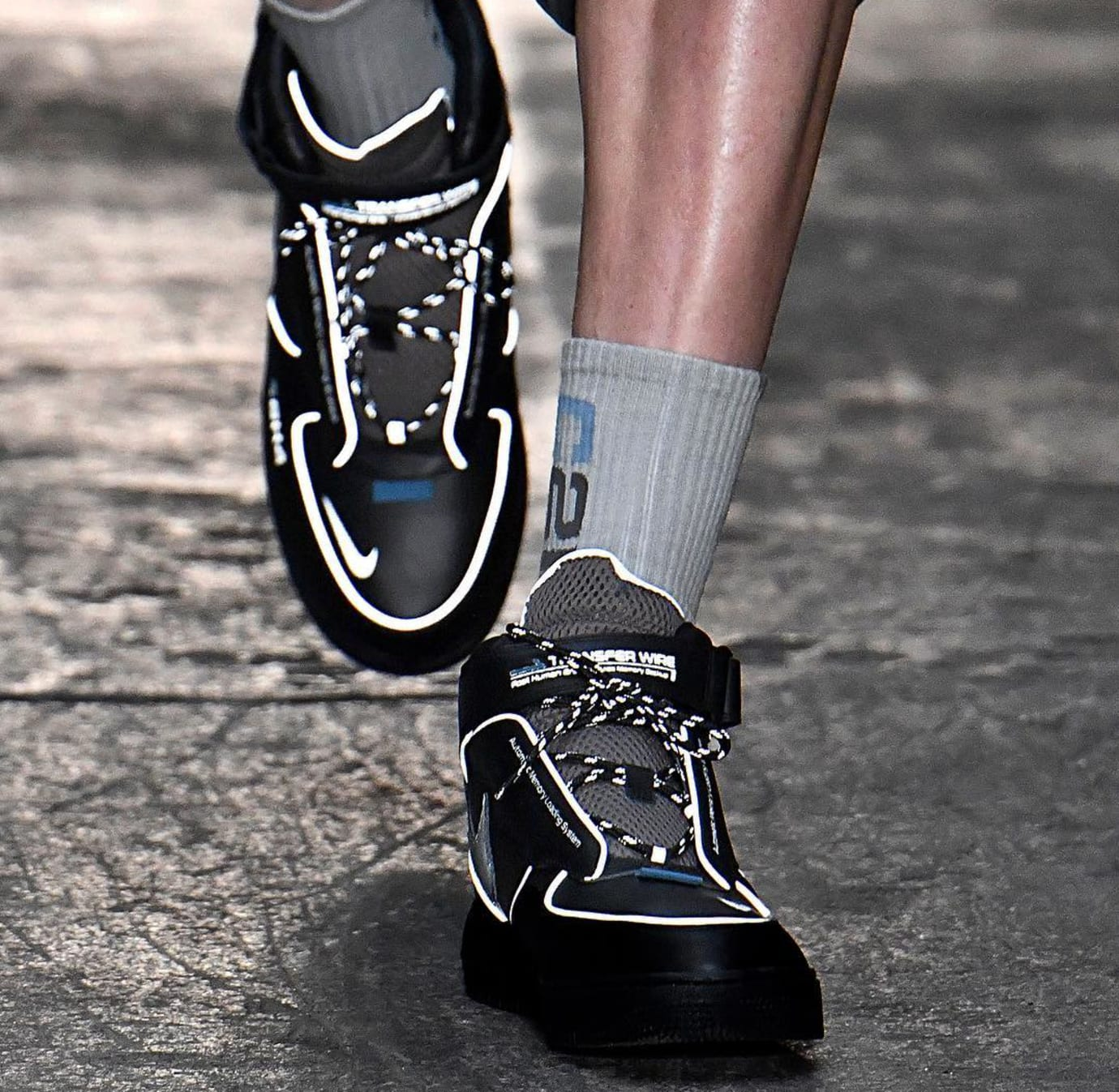 online store 52f93 0409e C2H4 Reveals Reflective Air Force 1s | Sole Collector
