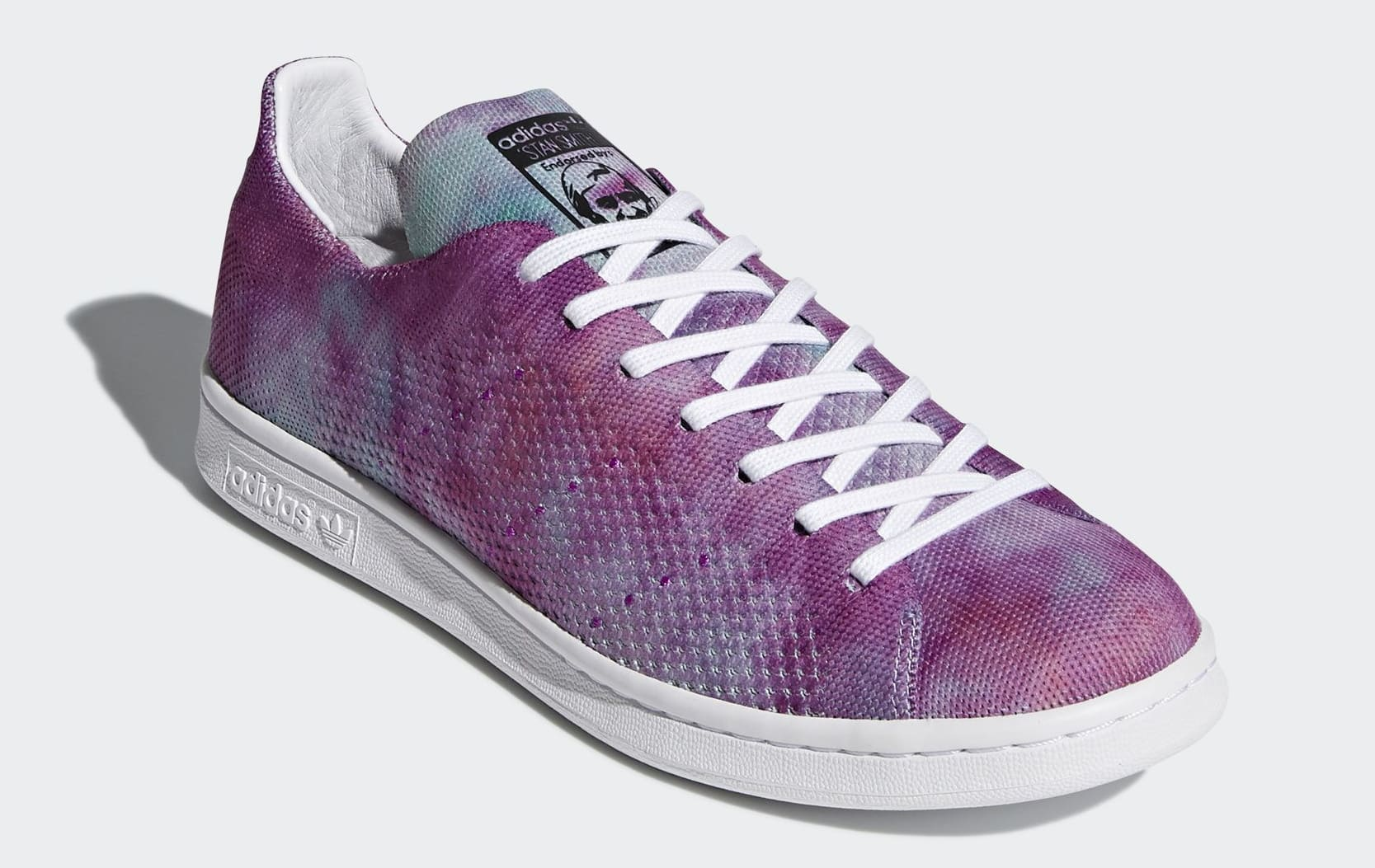 Pharrell x Adidas Stan Smith 'Holi' DA9612 (Toe)