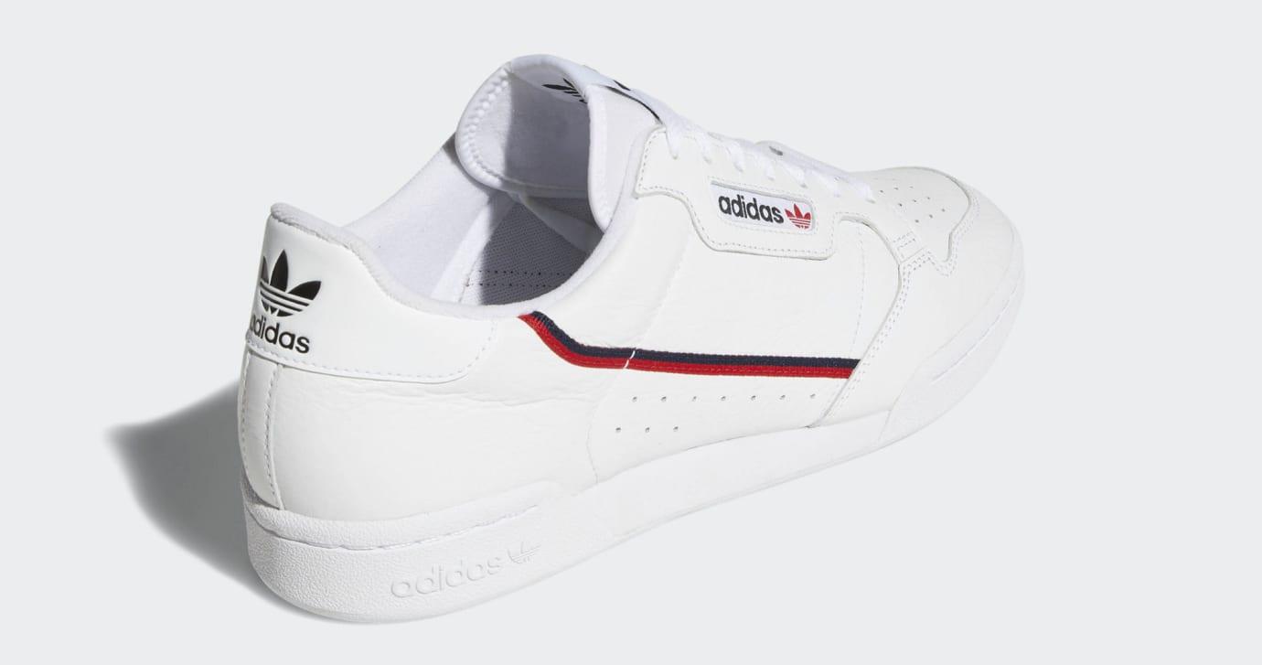 info for f43a4 9703b Image via Adidas Adidas Continental 80 Rascal B41674 (Heel)