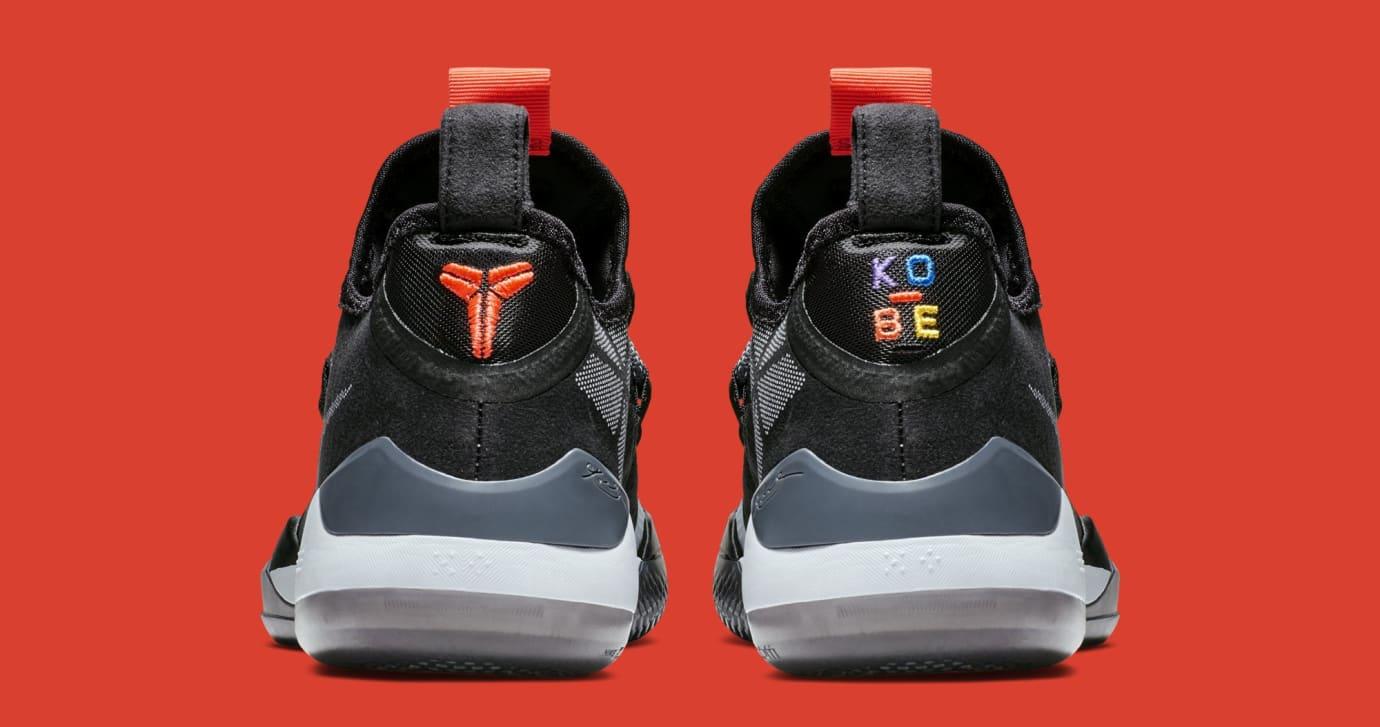 check out 57e4b 048f4 Image via Nike Nike Kobe AD  Black Multi  AV3555-001 (Heel)
