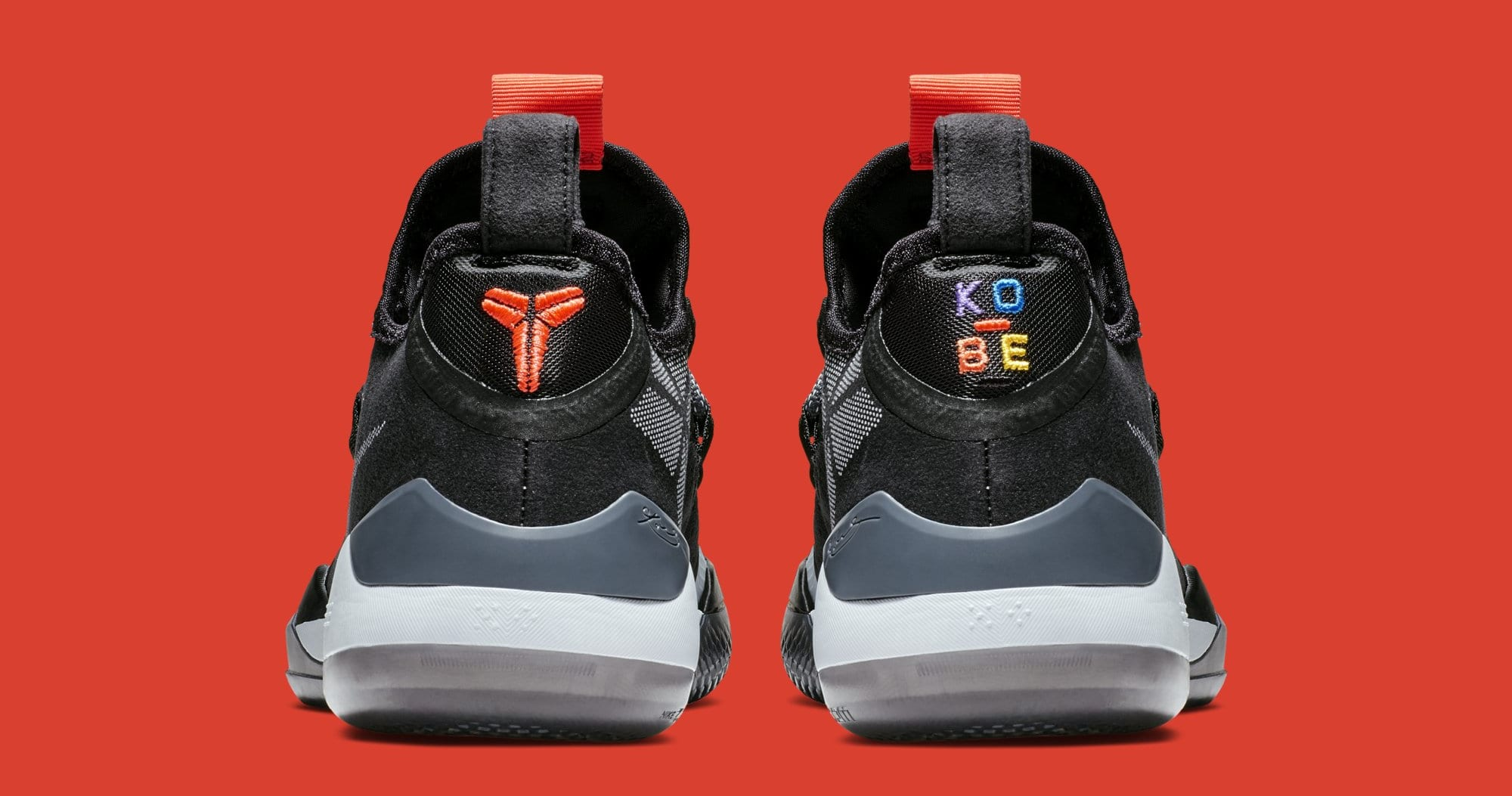Nike Kobe AD 'Black/Multi' AV3555-001 (Heel)