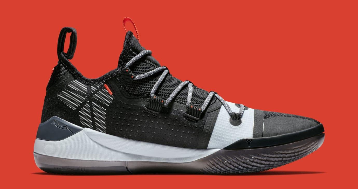 promo code 0d3f2 6b23f Image via Nike Nike Kobe AD  Black Multi  AV3555-001 (Medial)