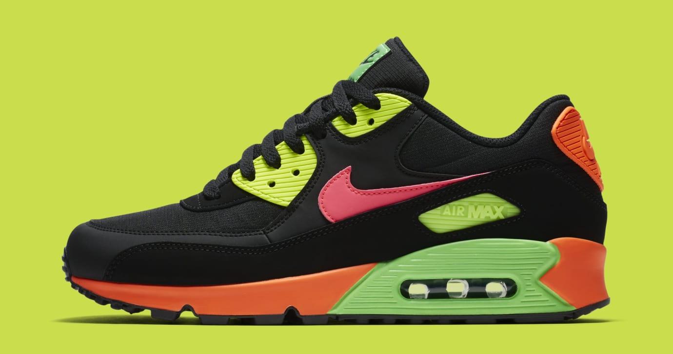 Nike Air Max 90 'Tokyo Neon' CI2290-064 (Lateral)