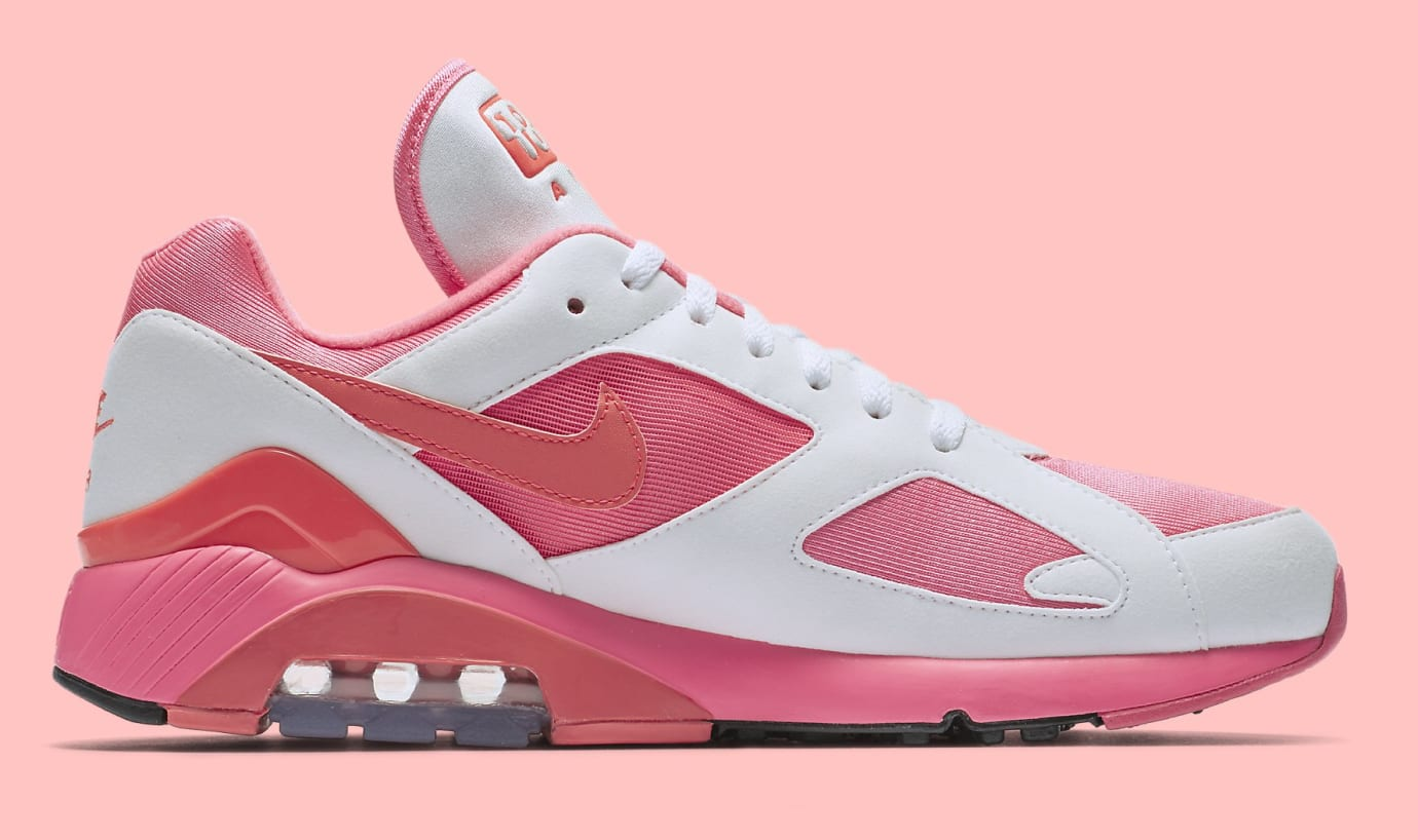 Comme des Garçons x Nike Air Max 180 'White' AO4641-600 (Medial)