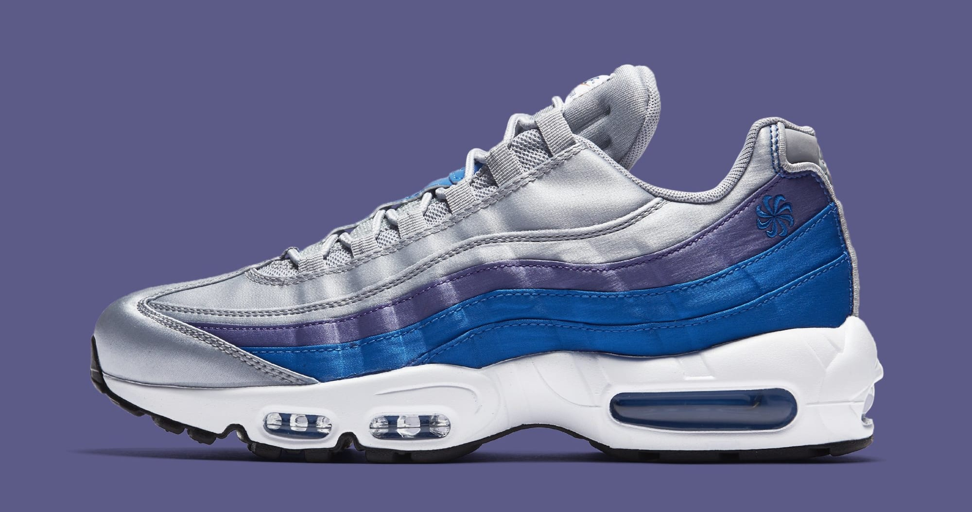 Nike Air Max 95  Wolf Grey Blue Nebula-Purple Slate-White  AJ2018 ... f5add815ae