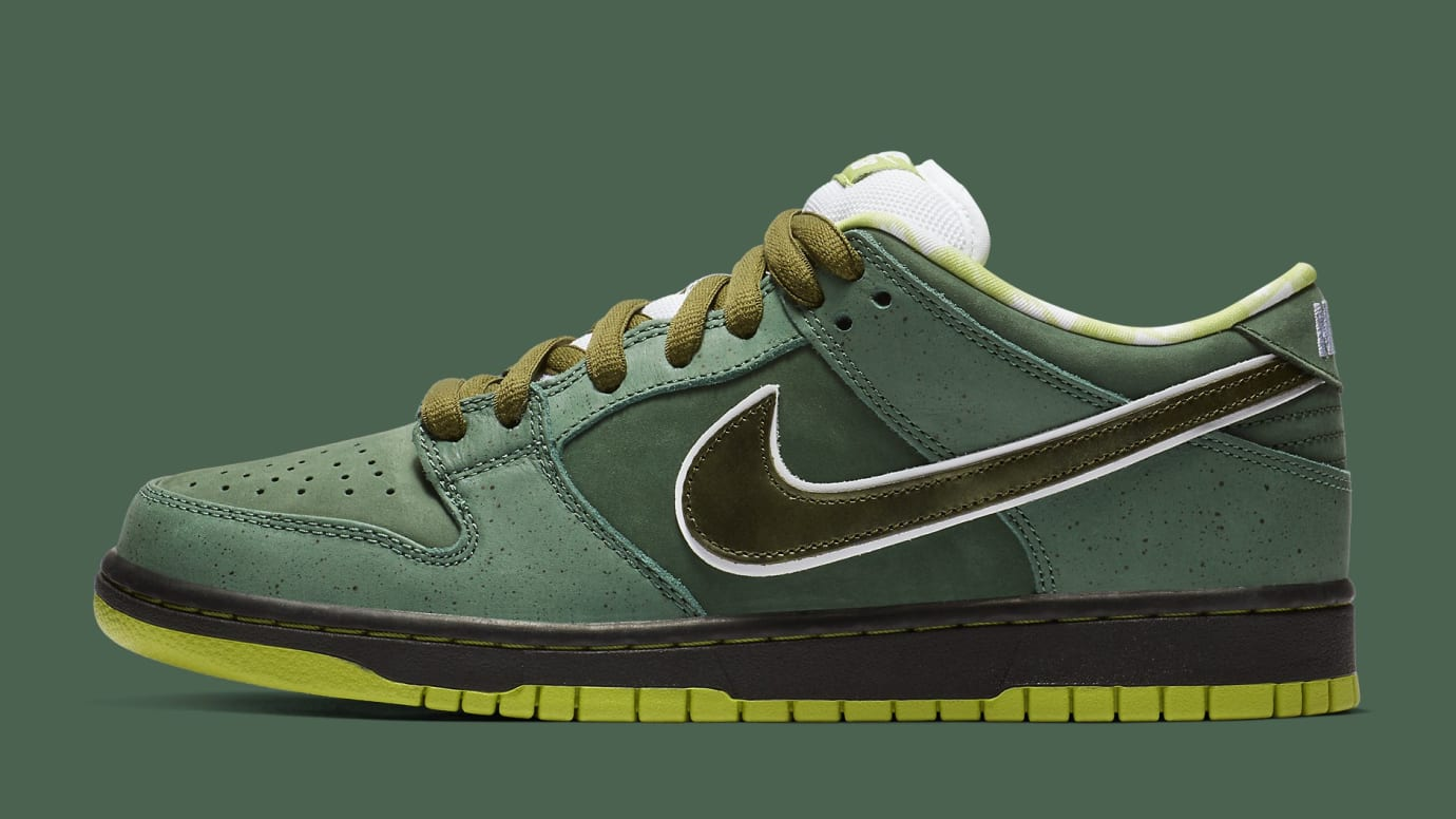 sale retailer 10a2f 1d357 CNCPTS x Nike SB Dunk Low 'Green Lobster' Release Date | Sole Collector
