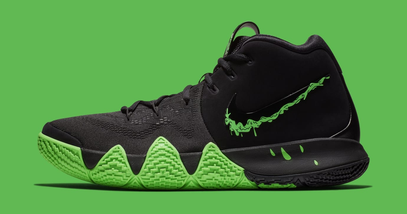 f358843f7be0 Nike Kyrie 4 Black Rage Green Halloween Release Date 943806-012 ...