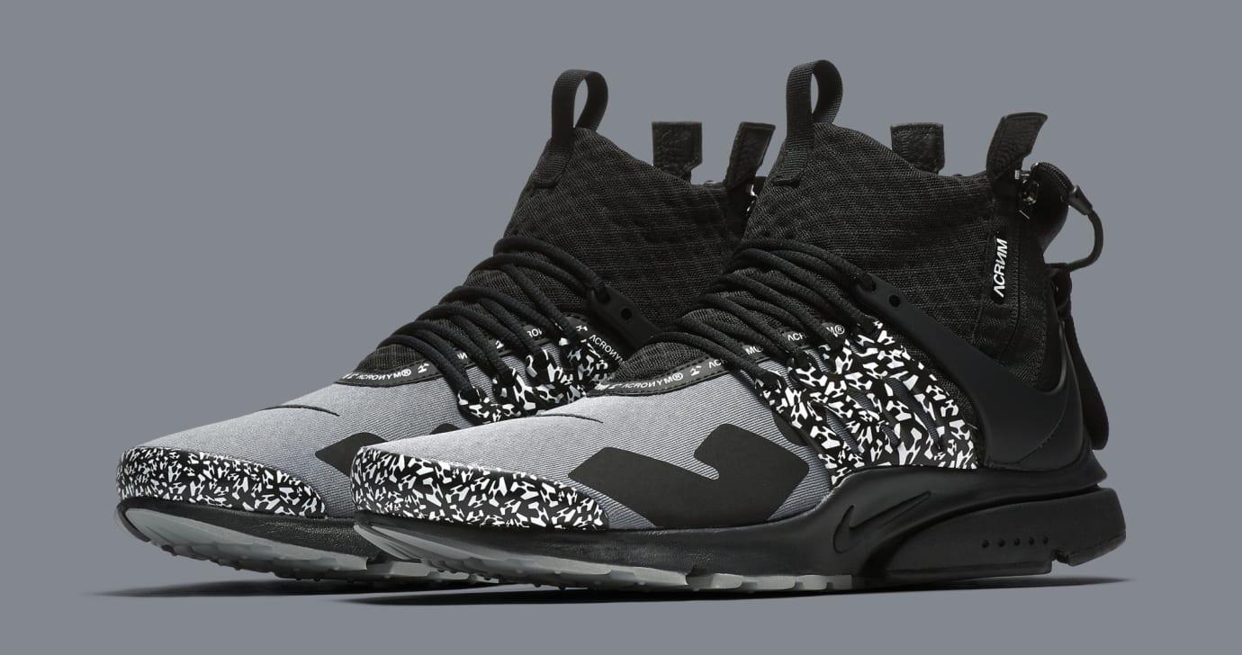 b59fa48ad33a Acronym x Nike Air Presto Mid  Cool Grey Black  AH7832-001 (