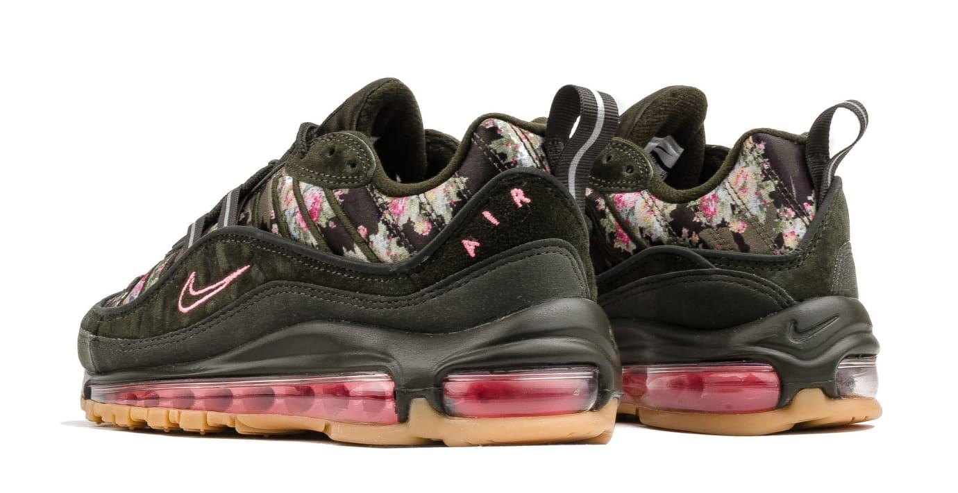 WMNS Nike Air Max 98 'Sequoia' AQ6488-300 (Heel)