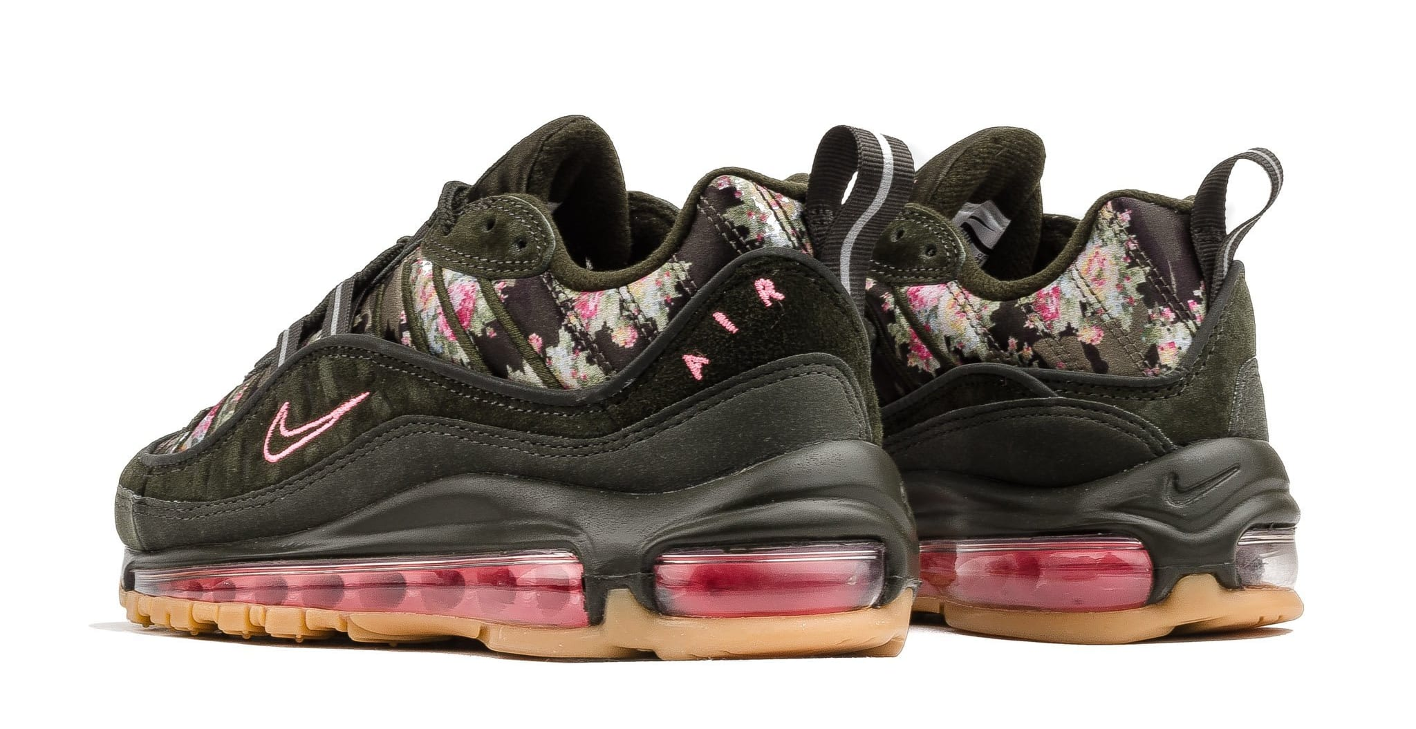 WMNS Nike Air Max 98 'Sequoia' AQ6488-300 (Heel)