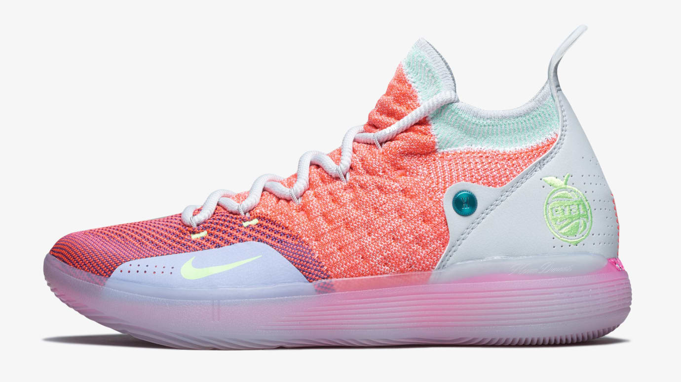 Nike KD 11  EYBL  Peach Jam Release Date AO2604-600  e9414ea63