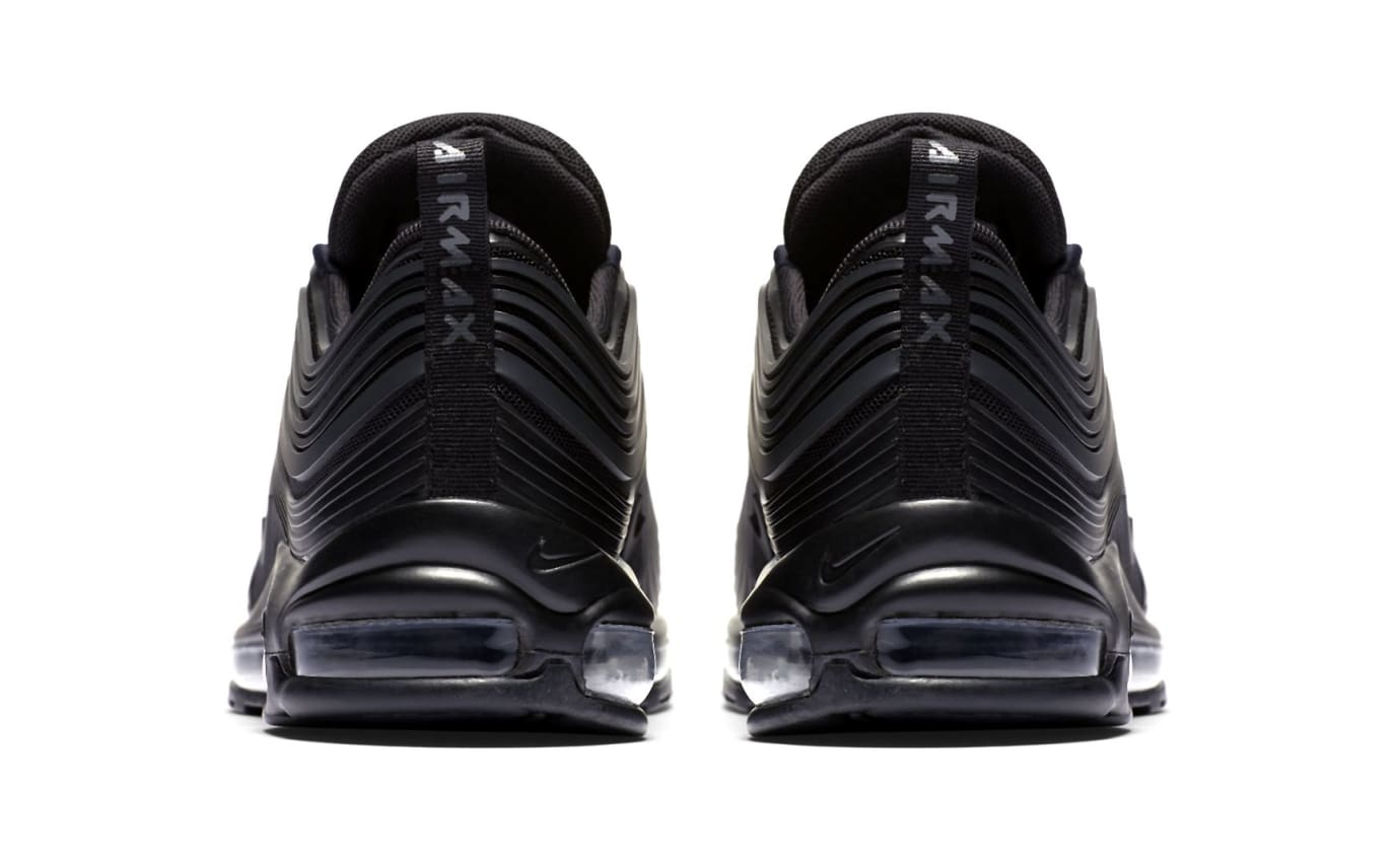 Nike Air Max 97 Ultra 'Triple Black' New Pattern (Heel)